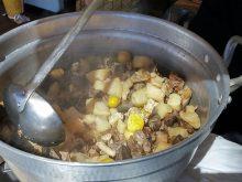 比内地鶏もつ煮