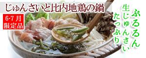 NEWじゅんさい鍋