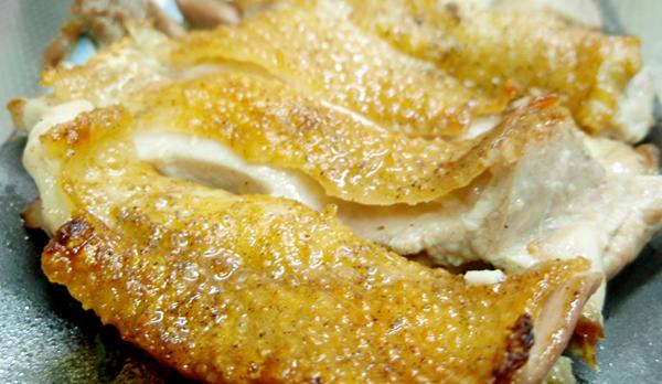 比内地鶏モモ焼き2