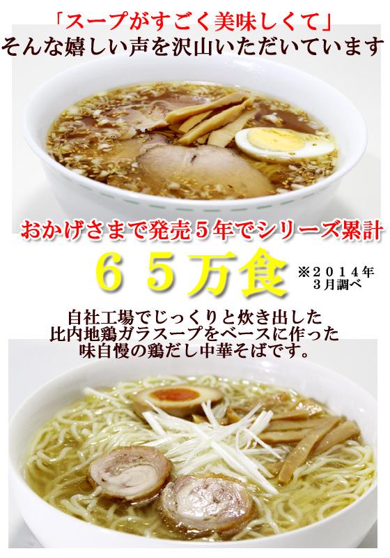 スープがとにかく旨い、比内地鶏 鶏中華そば