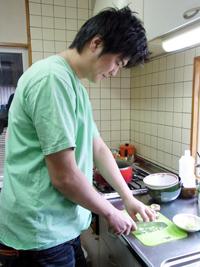 料理の好きな男の子